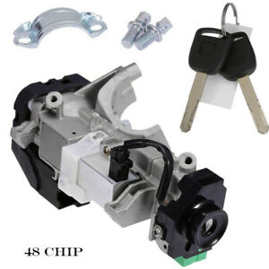 Ignition Switch Cylinder Lock Auto Trans For Honda Civic Odyssey Crv accord
