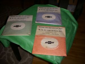 3 Nos Vintage Slip On Sun Visor Of Car Cleaning Tissues