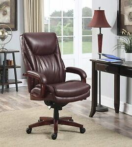 La z boy Edmonton Big And Tall Executive Office Chair With Comfort Core Cushions