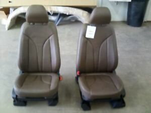 Front Leather Bucket Seats Fits 15 16 Mkc 131302