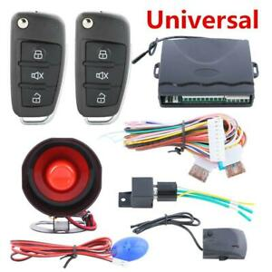 Car Anti Theft Central Door Locking Keyless Entry Remote Anti Theft Alarm System