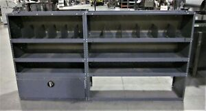 Used Metal Shelving From Commercial Van