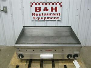 Vulcan 36 Mgg 3a Natural Gas Thermostatic Flat Top Griddle Grill 3