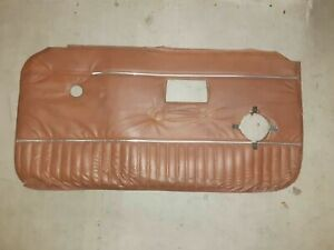1970 1976 Mgb Drivers And Passenger Door Panel Autumn Leaf Pair