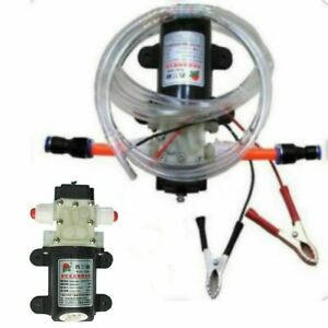 Professional Electric 12v Oil Pump Diesel Fuel Oil Engine Oil Extractor Transfer
