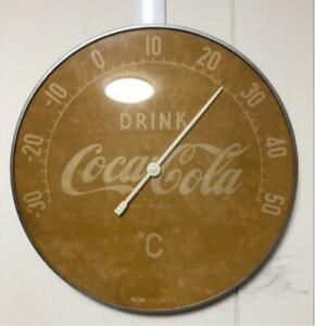 Coca Cola Antique Vintage Thermometer Used