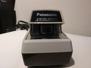 Vintage Panasonic As 300 Commercial Desktop Electric Stapler Tested Working