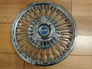 610 14 65 66 Ford Mustang Spinner Type Wire Hubcap Wheelcover 1 Used Driver
