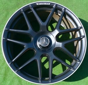 Factory Mercedes benz E63s Wheels Genuine Oem Amg Forged Cross Spoke 20 E63 S 4
