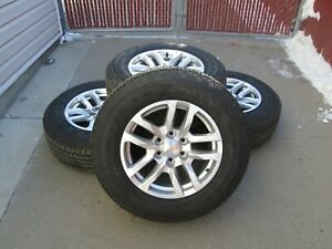 18 Chevy Gmc 1500 Factory 2019 Wheels Tires 5912 Rims Oem Set 4