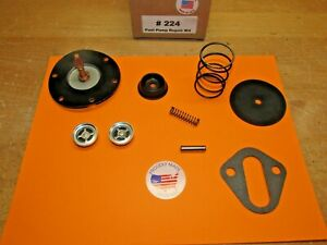 1955 1956 1957 Chevy Bel Air 6 Cylinder Ac 4149 Unleaded Fuel Pump Rebuild Kit