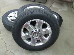 20 Chevy Gmc 2500 3500 Hd Pickup Factory Oem Wheels And Tires 275 65 20 10