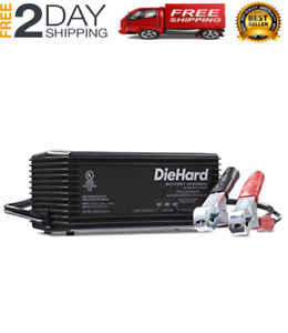 Original Diehard 71219 6 12v Shelf Smart Battery Charger And 2a Maintainer New