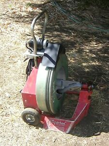 Spartan 1065 Sewer Drain Main Line Cleaner Plumbing Tool Snake Local Pick Up