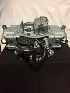 Holley 600 Cfm Carburetor 4150 Vacuum Secondary Newly Overhauled