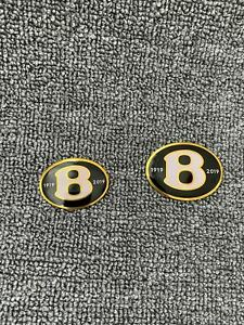 Bentley Continental Flying Spur Front rear b Gold Badge Limited Edition Set
