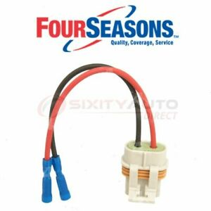Four Seasons Blower Motor Pigtail For 1998 2002 Chevrolet Blazer Heating Ic