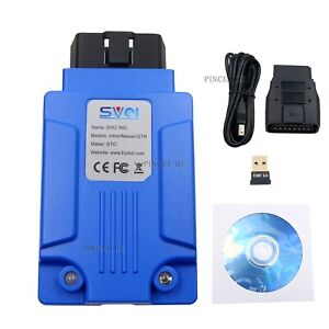 Svci Ing Diagnostic Tool For Programming For Infiniti nissan gtr Bluetooth 4 0