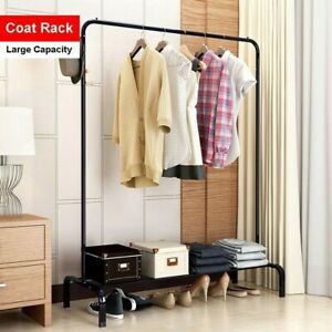 Heavy Duty Commercial Clothing Garment Rolling Collapsible Rack Hanger 250lbs