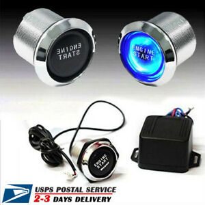 For Keyless Entry push Starter Auto12v Ignition Switch Engine Start Push Button
