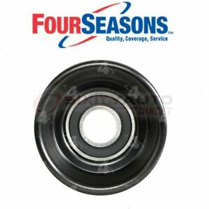 Four Seasons Drive Belt Idler Pulley For 1998 Chevrolet Monte Carlo Engine Gv
