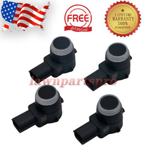 4x Backup Parking Assist Sensor 15239247 For Lucerne Escalade Suburban Avalanche