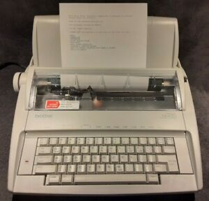 Brother Gx 6750 Daisy Wheel Electric Typewriter Correctronic Tested works