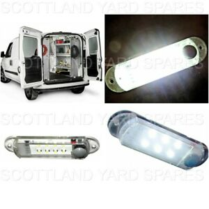 Commercial Work Truck Van Cap Utility Topper Bright Switched Led Dome Light 12v