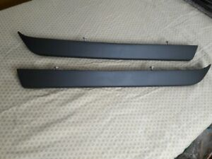 Detomaso Pantera 71 74 Parts Steel Pre L Rear Bumpers