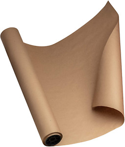 White Kraft Brown 24 By 150 Feet 1800 Inches Made In Usa Craft Paper Roll