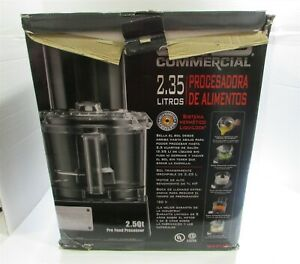 Waring Commercial Wfp11s Batch Bowl Food Processor W seal System 2 1 2 quart