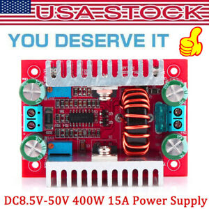 400w 15a Dc Step up Boost Converter Constant Current Power Supply Led Driver New