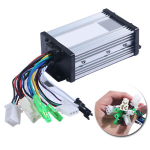 1 Piece 36v 48v 350w Electric Bicycle E Bike Brushless Dc Motor Speed Controller