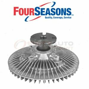 Four Seasons Engine Cooling Fan Clutch For 1988 Chevrolet C1500 Belts Zw