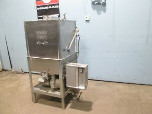 hobart Am11 Heavy Duty Commercial Natural Gas High Temp Door Type Dishwasher