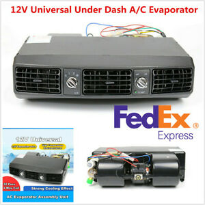 12v Universal Car Truck A c Underdash Evaporator Air Conditioning Cooling System