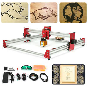5500mw Cnc Laser Engraving Machine 45x45cm Cnc Router Engraver Machine Diy