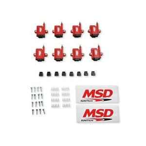 Msd 8289 8 Ignition Coil Smart Coil Red 8 pack