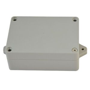 Waterproof White Electronic Project Box Enclosure Plastic Cover Case