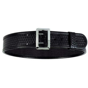 Bianchi 22219 7960 Sam Browne Belt Basket Weave Black Size 34 013527222190