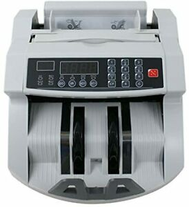 Money Bill Counter Counting Machine Counterfeit Detector Uv Mg Cash Bank
