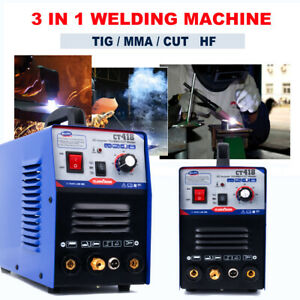 3 In 1 Tig mma cut Plasma Cutter Welder Welding Machine Dc Interver Cut Up 10mm