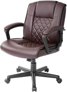 Ergonomic Executive Office Chair Lumbar Back Support Gaming Chair Desk Computer