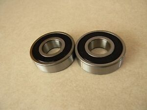 Walker turner 14 16 Bandsaw Special Bore Lower Arbor Bearing Set 2 Pcs