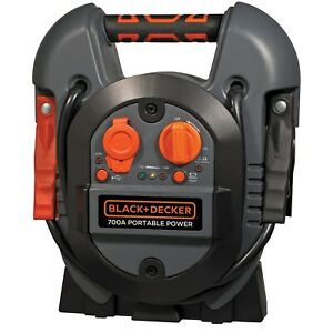 Black Decker 600 300 Amp Jump Starter Box W usb j312b