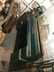 Parts Powermatic Model 90 Lathe Base Bed Motor And Headstock Casting