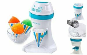 Nostalgia Ism1000 Electric Shaved Ice Snow Cone Maker