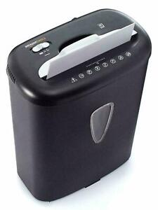 Amazonbasics 8 sheet Strip cut Paper Cd And Credit Card Home Office Shredder