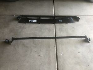 Thule Airscreen 52 Inch 2 Bar Jeep 4 door Jku Roof Rack