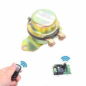Car Wireless Remote Control Battery Switch Disconnect Latching Relay Anti the